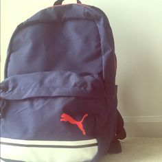 176019b7fa Great size school backpack from PUMA Perfect size of Navy Blue backpack  from PUMA. Puma