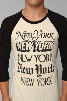 For the NYC lovers/ New York City Raglan Tee $32
