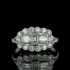 1930s Style Diamond Ring