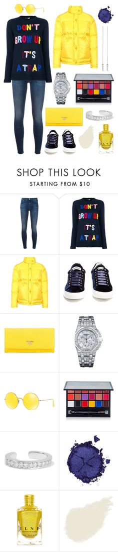 """""""good old times"""" by theodor44444 ❤ liked on Polyvore featuring 7 For All Mankind, Love Moschino, Prada, Jil Sander, Audemars Piguet, Ray-Ban, Anastasia Beverly Hills, Anita Ko, Pat McGrath and Bobbi Brown Cosmetics"""