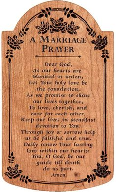 A Marriage Prayer (Medium)