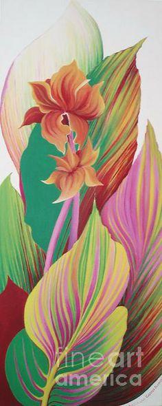 Canna Durban  by Barbara Anna Cichocka