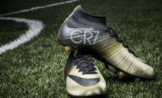 754190c9f29 Cristiano Ronaldo New Nike Mercurial Rare Gold-Black Football Boots 2015  Unveiled - Footballwood