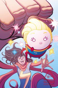 Tsum Tsum Invades the Marvel Universe in New Comic Book Series (Exclusive) | Nerdist