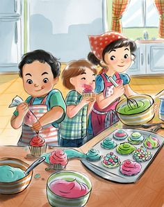 Art Drawings For Kids, Drawing For Kids, Art For Kids, Picture Comprehension, Picture Composition, Preschool Learning Activities, Picture Story, Children's Book Illustration, Childrens Books