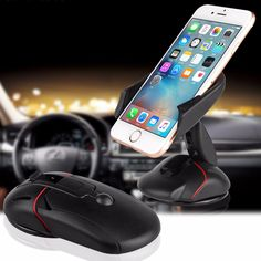 Sucker Type Mini Folding 360 Turn Universal Car Interior Accessories Dashboard Cell Mobile Phone GPS Mount Holder Stand Cradle