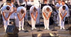 5 Navy Sailors Take Their Places…When They Look Up The Crowd Went Crazy!