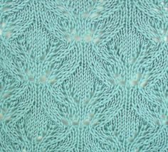 Japanese Waterlillies, a wonderful lace pattern, well worth the effort.  It can be found in the Japanese Lacy category.