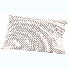 John Robshaw Textiles - Tabur Clay Cases - Sheets & Cases - BEDDING