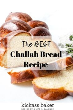 Best Challah Bread Recipe - Kickass Baker This Challah Bread recipe is the absolute BEST. The bread bakes up the way it's supposed to with that airy, soft interior and golden brown crust. Challah Bread Recipes, Best Challah Recipe, Biscuits, Photo Food, Braided Bread, Smitten Kitchen, Bread Rolls, Quick Bread, Recipes