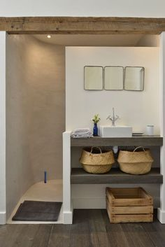 Bathroom Interior Design, Bathroom Inspiration, Small Bathroom, Neutral Bathroom, Bathroom Ideas, Sweet Home, House Styles, Home Decor, Arles