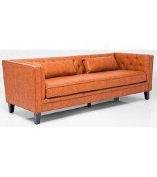 sofa-retro-3-plazas-capitone-marron
