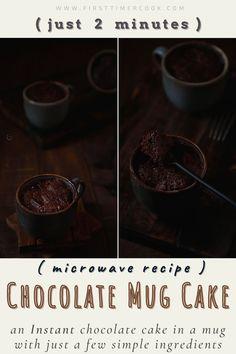 Cake Mix Recipes, Cupcake Recipes, Dessert Recipes, Dark Chocolate Recipes, Chocolate Sweets, Cacao Recipes, Dessert For Two, Vegetarian Cake, My Favorite Food