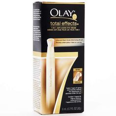 Best Anti-Aging Treatment: Olay Total Effects 7-in-1 Anti-Aging Eye Cream Line and Dark Circle Minimizing Brush - Better try this one right away