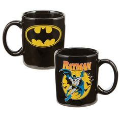 Na na na na na na na na na na na na na na na na... BATMAN! Mug is ceramic with photo quality design. Microwave and dishwasher safe. Ships in full color gift box.