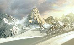 Peak by Mikhail Nagliy, via Behance
