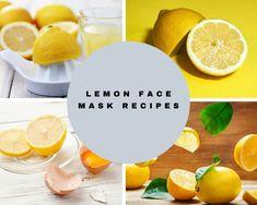 Lemon Face Mask: Benefits + 7 Best Face Mask Recipes Lemon has various benefits on the skin. Lemon Face Mask, Best Face Mask, Beauty Skin, Health And Beauty, Beauty Tips, Beauty Hacks, Skincare Routine, Skin Care, Deep
