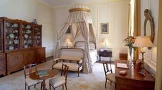 Bedroom, Ditchley Park