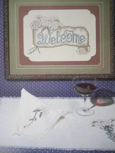 See Sally Sew-Patterns For Less - Heiloom Welcome Cross Stitch Stoney Creek Collection Needlework Leaflet 4 , $6.00 (http://stores.seesallysew.com/heiloom-welcome-cross-stitch-stoney-creek-collection-needlework-leaflet-4/)