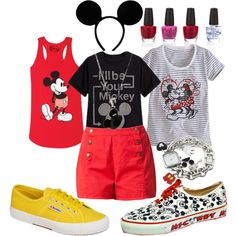"""Mickey Mouse"" by olliegmich493 on Polyvore"