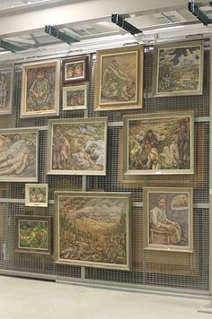 But the crown jewel of the collection is the 16,000 pieces of fine art the Army owns. | Inside The Army's Spectacular Hidden Treasure Room