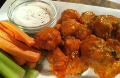 Recipe For Buffalo Chicken Meatballs
