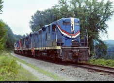 RailPictures.Net Photo: B&M 1737 Boston & Maine EMD GP9 at Winchester, Vermont by David Harris