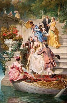 Victorian Paintings, Renaissance Paintings, Victorian Art, Classic Paintings, Old Paintings, Beautiful Paintings, Rennaissance Art, 7 Arts, Baroque Painting