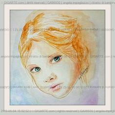 ritratto di bambina @GIGARTE.com