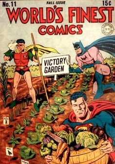 Superhero Victory Garden #OrganicGardening