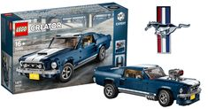Customizable 10265 Ford Mustang revealed as next LEGO Creator Expert vehicle [News - Ford Mustangs, Lego Creator, Models Off Duty, Lego Cars, Technique Lego, Engine Detailing, Mustang Logo, Lego City Police, Ford Mustang Shelby Gt500