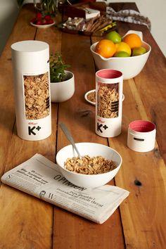 Concept: Kellog's Special K Cereal — The Dieline - Branding & Packaging