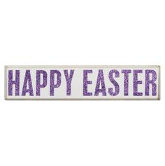 Happy Easter Box Sign