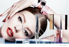 Ondria Hardin Stuns in Dior Magazine Beauty Shoot by Craig McDean