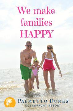We make families happy! Palmetto Dunes Oceanfront Resort, Hilton Head Island