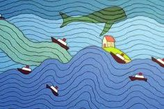 Ponyo - would love to make blanket/quilt with these colors and patterns