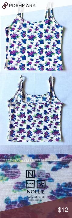 Tilly's - Floral Crop Top Like NEW Cool toned floral crop top from Tilly's 💐 Worn once✨ Size S.   🌟Feel free to offer! Most prices are negotiable 🌟Bundle your items to save💲! 10% off 2+ 🌟I do not trade 🌟Fast shipping! Same or next day Any questions? Just message me! Tilly's Tops Crop Tops
