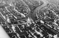 Foto aérea de Nagyvárad en 1941