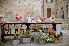 Italian Autumn wedding