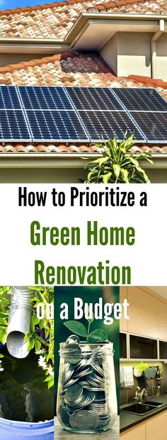 How to Prioritize a Green Home Renovation on a Budget. Achieving a more environmentally friendly home is a top priority for many eco-conscious homeowners. However, many homeowners believe that they need to spend thousands of dollars in order to complete a green home renovation. In reality, decreasing your home's carbon footprint can be a straightforward and budget-friendly process–if you know where to start. Here are some of our top tips to help you prioritize a #green #home #renovation on a…