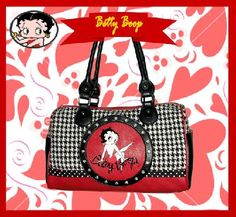 BETTY BOOP BAG AND MATCHING CHECKBOOK WALLET - FREE SHIPPING $52.00