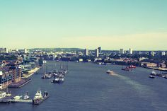 the view from London Tower Bridge