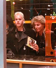 The Lost Boys, Quote: We only can here to watch one thing lol How3y80v--v