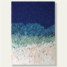 "Beach Grasses II - 36 x 24"" Acrylic on Canvas"