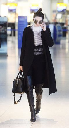 Kendall and Kylie Jenner Might've Just Worn Their Chic-est Airport Outfits Yet | WhoWhatWear