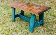 Country style bench, Farmhouse bench, Rustic bench, Vintage bench, distressed wood bench