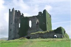 Ballycarberry Castle, Ring of Kerry Ireland