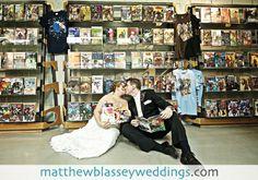 Catherine   Tom's Comic Book Wedding