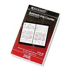 At-A-Glance Burkhart's Day Counter Daily Calendar Refill