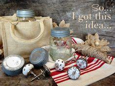 Vintage Knobby Jar Gift Idea